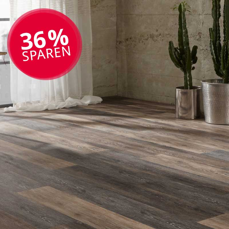 Vinylboden, Starflor Click 20, Cerused Oak Brown
